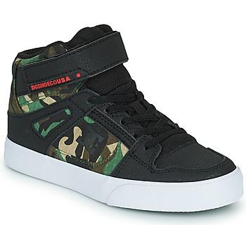 鞋子 男孩 高帮鞋 DC Shoes PURE HIGH-TOP EV 黑色 / 迷彩