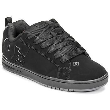 鞋子 男士 板鞋 DC Shoes COURT GRAFFIK 黑色 / 红色
