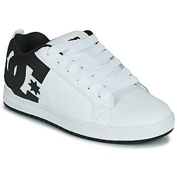 鞋子 男士 板鞋 DC Shoes COURT GRAFFIK 白色 / 黑色