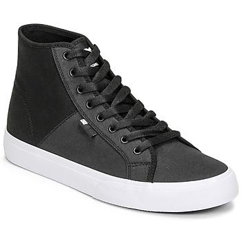 鞋子 男士 高帮鞋 DC Shoes MANUAL HI TXSE 黑色 / 白色