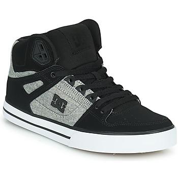 鞋子 男士 高帮鞋 DC Shoes PURE HIGH-TOP WC 黑色 / 灰色