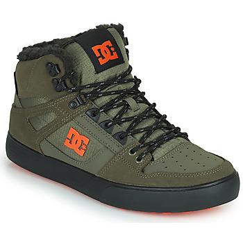 鞋子 男士 高帮鞋 DC Shoes PURE HIGH-TOP WC WNT 卡其色 / 黑色