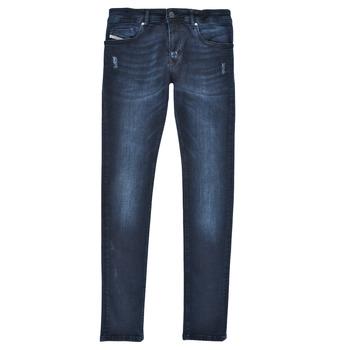 衣服 男孩 牛仔铅笔裤 Diesel 迪赛尔 SLEENKER 蓝色 / Fonce