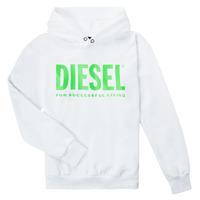 衣服 儿童 卫衣 Diesel 迪赛尔 SDIVISION LOGOX OVER 白色
