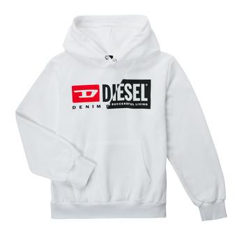 衣服 儿童 卫衣 Diesel 迪赛尔 SGIRKHOODCUTYX OVER 白色