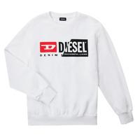 衣服 儿童 卫衣 Diesel 迪赛尔 SGIRKCUTY OVER 白色