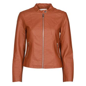 衣服 女士 皮夹克/ 人造皮革夹克 Vila VIBLUE 铁锈色