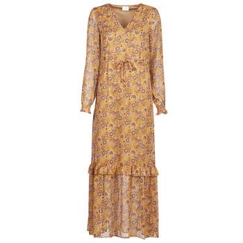 衣服 女士 长裙 Vila VIFALIA 棕色