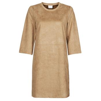 衣服 女士 短裙 Vila VISUDA 棕色