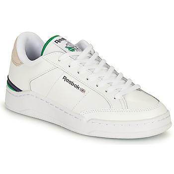 鞋子 球鞋基本款 Reebok Classic AD COURT 白色 / 绿色