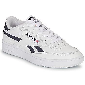 鞋子 球鞋基本款 Reebok Classic CLUB C REVENGE 白色 / 海蓝色