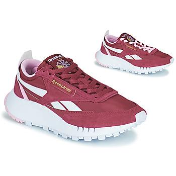 鞋子 女士 球鞋基本款 Reebok Classic CL LEGACY 波尔多红 / 白色