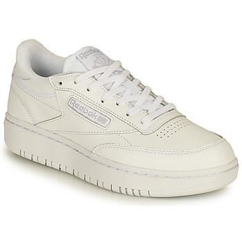 鞋子 女士 球鞋基本款 Reebok Classic CLUB C DOUBLE 白色