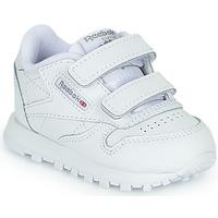 鞋子 儿童 球鞋基本款 Reebok Classic CL LTHR 2V 白色