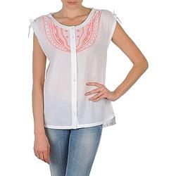 衣服 女士 短袖衬衫 Antik Batik AYLA 白色