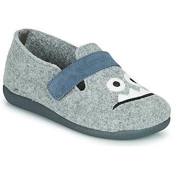 鞋子 男孩 拖鞋 Citrouille et Compagnie POIVA 灰色