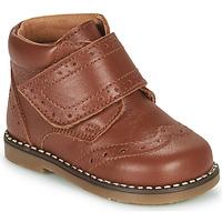 鞋子 男孩 短筒靴 Citrouille et Compagnie PROYAL 驼色