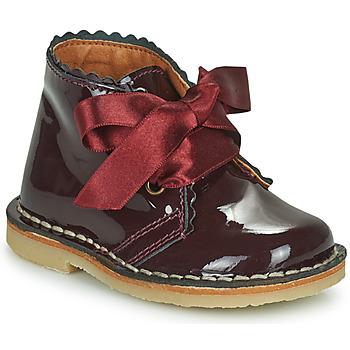 鞋子 女孩 短筒靴 Citrouille et Compagnie PASTEQU 波尔多红