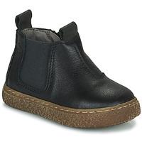 鞋子 男孩 短筒靴 Citrouille et Compagnie PESTACLE 黑色