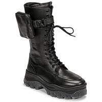 鞋子 女士 短筒靴 Bronx JAXSTAR HIGH 黑色