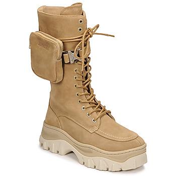 鞋子 女士 短筒靴 Bronx JAXSTAR HIGH 米色