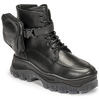 鞋子 女士 短筒靴 Bronx JAXSTAR MID 黑色