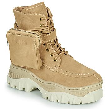 鞋子 女士 短筒靴 Bronx JAXSTAR MID 米色