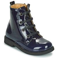 鞋子 女孩 短筒靴 Citrouille et Compagnie HEMANU 蓝色