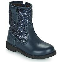 鞋子 女孩 短筒靴 Citrouille et Compagnie JUCKER 蓝色