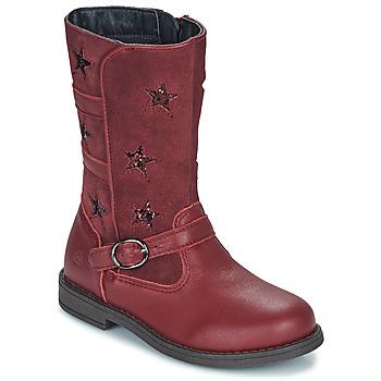 鞋子 女孩 都市靴 Citrouille et Compagnie HANDRE 波尔多红