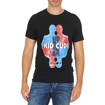衣服 男士 短袖体恤 Eleven Paris KIDC M 黑色