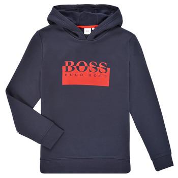 衣服 男孩 卫衣 BOSS MARKE 海蓝色