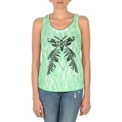衣服 女士 无领短袖套衫/无袖T恤 Eleven Paris PAPILLON DEB W 绿色 / 白色