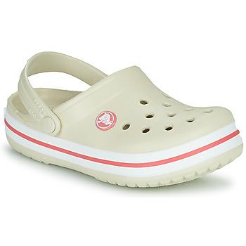 鞋子 儿童 洞洞鞋/圆头拖鞋 crocs 卡骆驰 CROCBAND CLOG K 米色 / 橙色