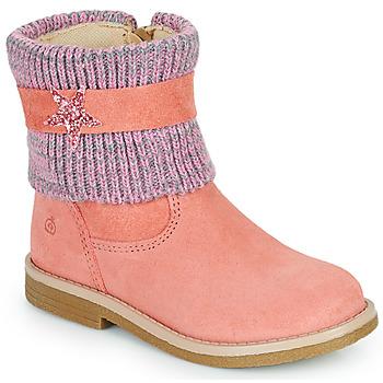 鞋子 女孩 短筒靴 Citrouille et Compagnie PASTEK 玫瑰色