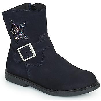 鞋子 女孩 短筒靴 Citrouille et Compagnie POUDRE 海蓝色