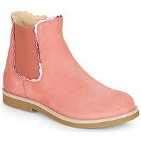 鞋子 女孩 短筒靴 Citrouille et Compagnie PRAIRIE 玫瑰色