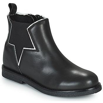 鞋子 女孩 短筒靴 Citrouille et Compagnie PRATO 黑色