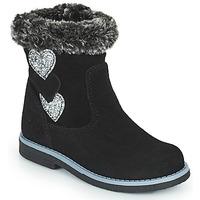 鞋子 女孩 都市靴 Citrouille et Compagnie PARAVA 黑色