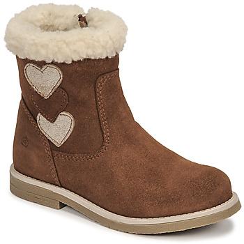 鞋子 女孩 都市靴 Citrouille et Compagnie PARAVA 驼色