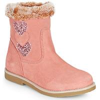 鞋子 女孩 都市靴 Citrouille et Compagnie PARAVA 玫瑰色