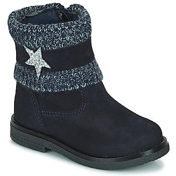 鞋子 女孩 短筒靴 Citrouille et Compagnie PASTEK 海蓝色