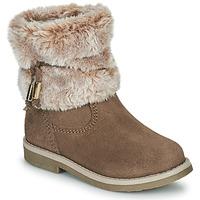 鞋子 女孩 短筒靴 Citrouille et Compagnie PAKRETTE 驼色