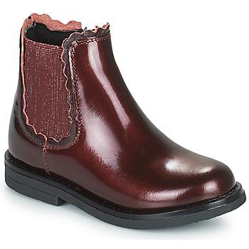鞋子 女孩 短筒靴 Citrouille et Compagnie PRAIRIE 波尔多红