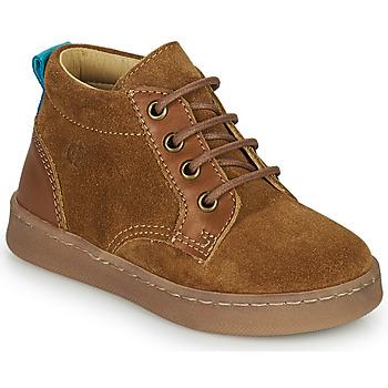 鞋子 男孩 高帮鞋 Citrouille et Compagnie PACELLE 驼色