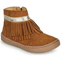 鞋子 女孩 短筒靴 Citrouille et Compagnie PIDOUTE 驼色
