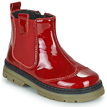 鞋子 女孩 短筒靴 Citrouille et Compagnie PATATA 红色