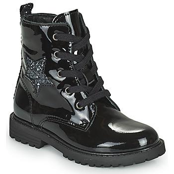 鞋子 女孩 短筒靴 Citrouille et Compagnie PICOTI 黑色
