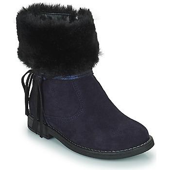 鞋子 女孩 短筒靴 Citrouille et Compagnie PICOTA 海蓝色