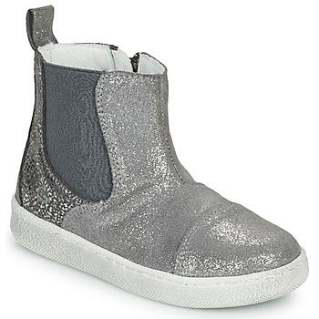 鞋子 女孩 短筒靴 Citrouille et Compagnie PIMANE 灰色